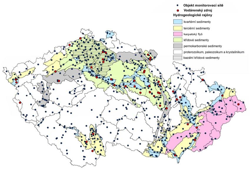 Pesticidy ve vodě - ČR