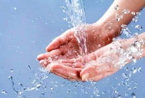 voda ruce