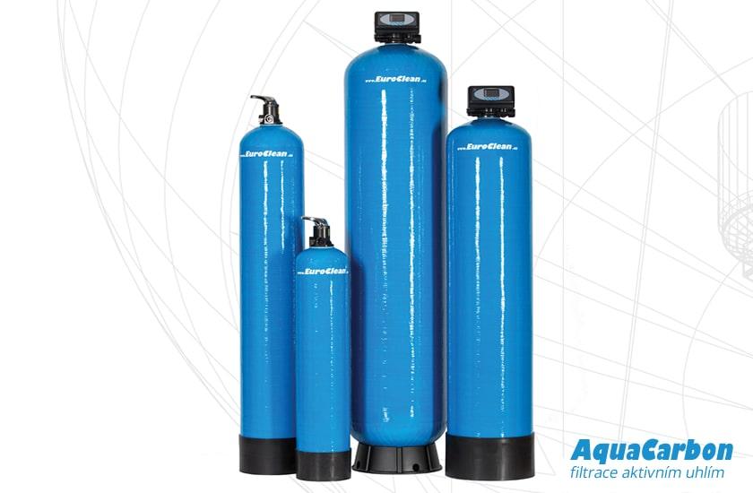 Filtry s aktivním uhlím pro odstranění pesticidů z vody AquaCarbon